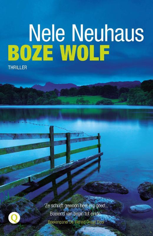 Boze wolf | voorzijde