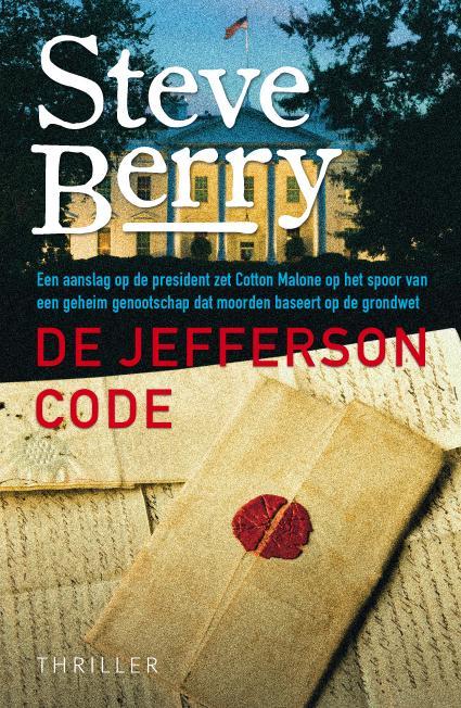 De Jefferson code | voorzijde